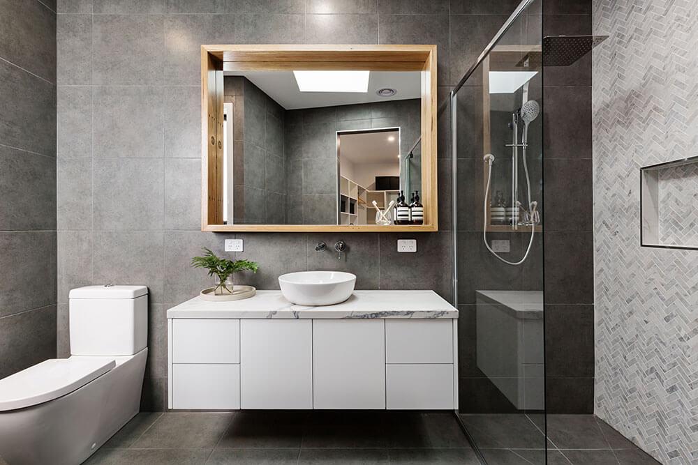 St Kilda main bathroom renovation design