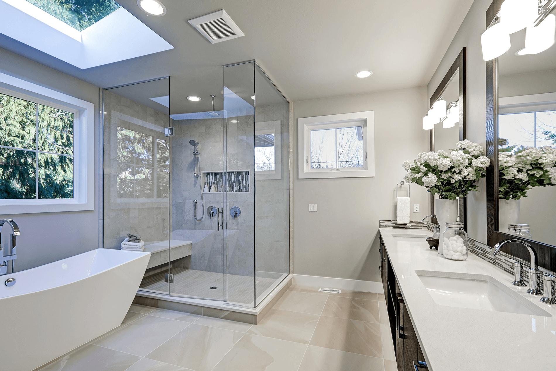 St Kilda minimalist bathroom design